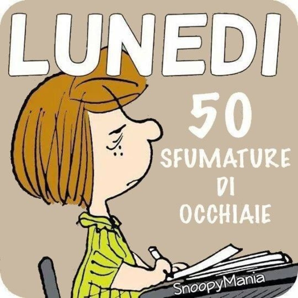 Bellissime Immagini Buon Lunedi Snoopy (2)