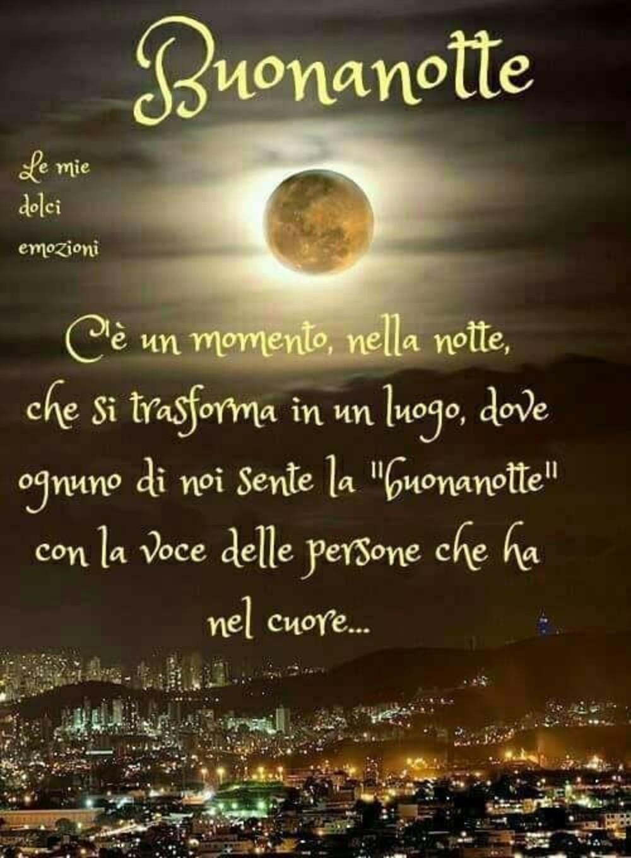 Buonanotte Dolci Emozioni Immagini Il Giulebbe