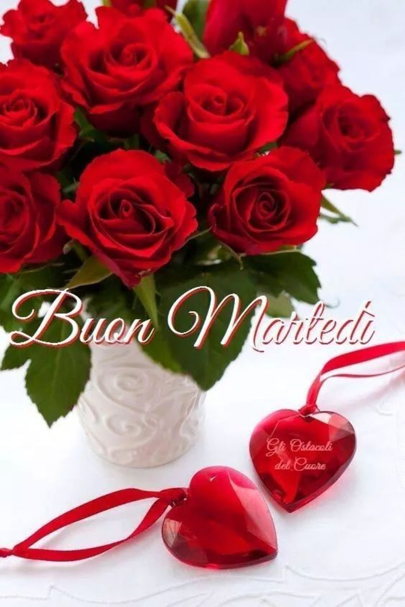 belle immagini buon martedi amore con rose (7)