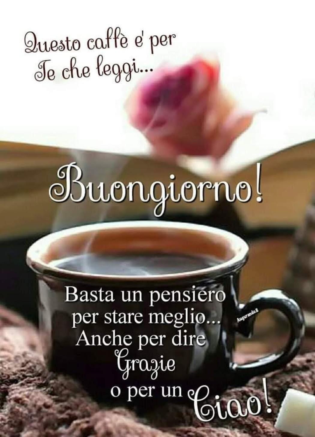 Immagini Dolce Buongiorno Amore Mio Con Caffè 15