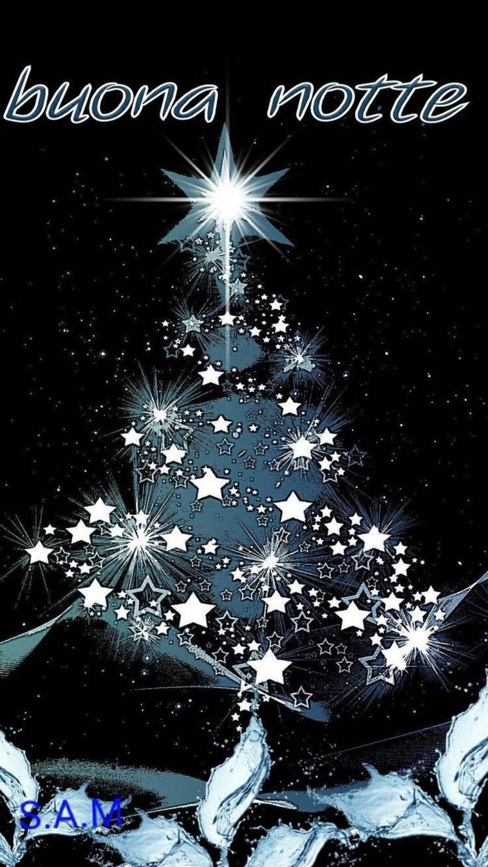 Immagini Di Buonanotte Di Natale.Immagini Buonanotte Albero Di Natale Fotowhatsapp It