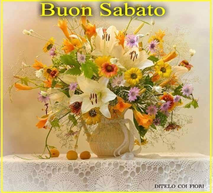 Belle Immagini Buon Sabato Con I Fiori Fotowhatsappit