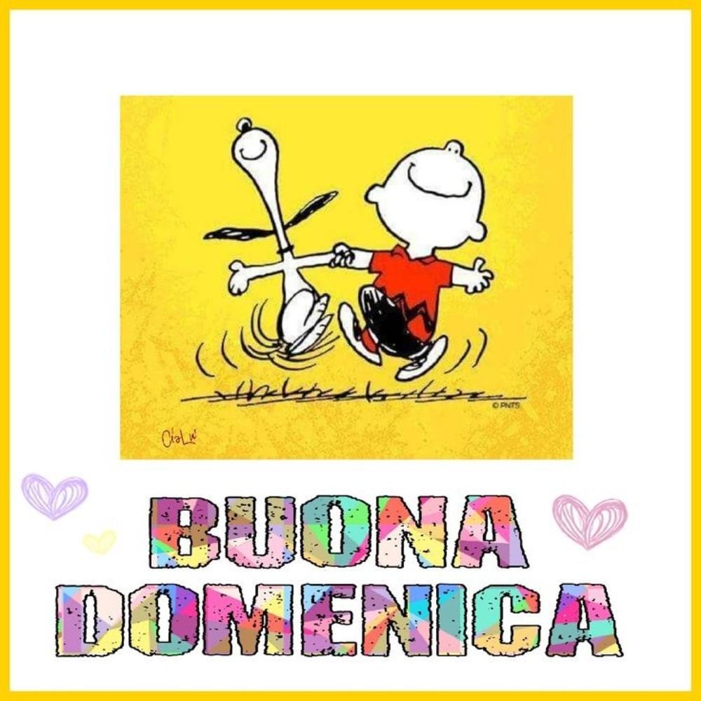 belle immagini felice domenica Snoopy