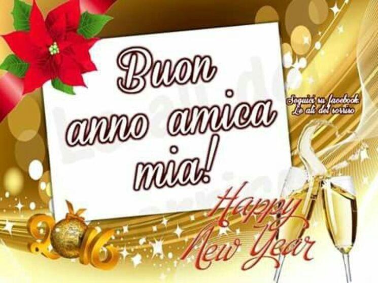 immagini gratis auguri buon anno amica mia